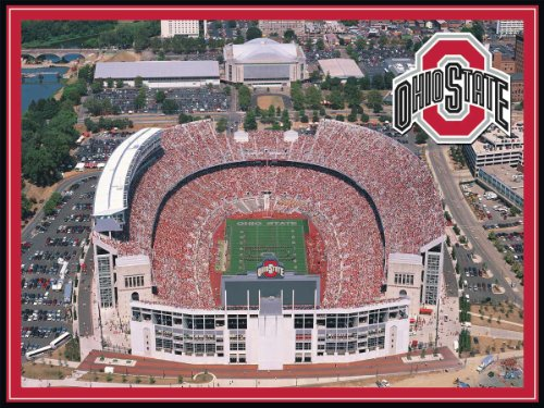 Cheap Fun White Mountain Puzzles Ohio State Stadium (B001J4RJ3W)