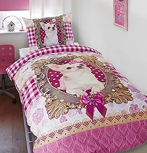 Dreamhouse Bedding Duvet Cover Chihuahua - 140x200/220