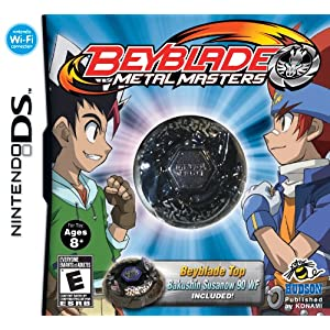 Beyblade: Metal Masters (Susanow Black) Collector's Edition Video Game for Nintendo DS