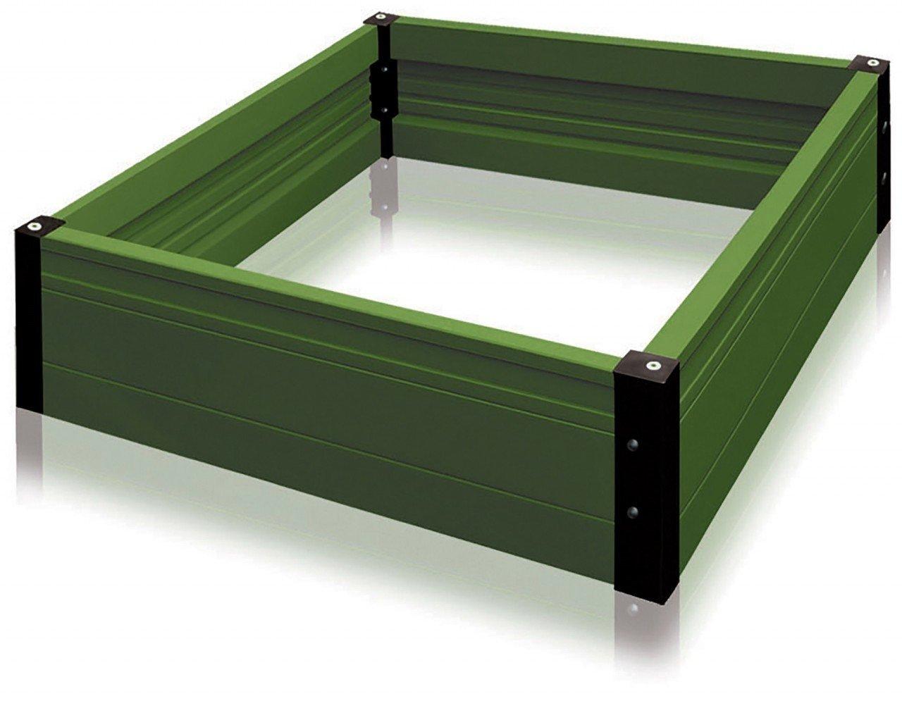 TOLO Pflanzbeet / 4 Teile: 1 Beetumrandung, 1 Auskleidung, 1 Foliendach + 1 Netz / Maße: 150 x 75 x 28 cm / Material: Kunststoff / 5+ günstig bestellen
