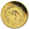 2017 AU Australia 1 kilo Gold Kangaroo BU Gold Brilliant Uncirculated