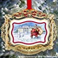 1 X 2011 Official White House Christmas Ornament - President Theodore Roosevelt