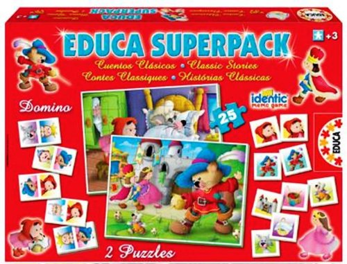 Educa Superpack Classic Stories - 1