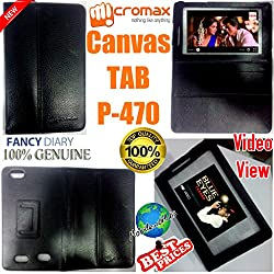 MBW MicroMax Canvas P-470 TABLET COVER HIGHQUALITY FLIPCOVER