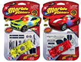 Light Up Marble Racer: Camaro & Stingray
