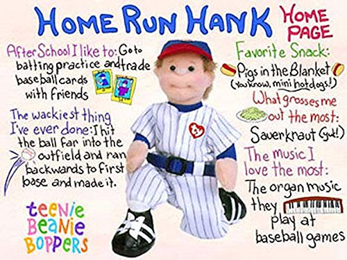 TY Teenie Beanie Bopper - HOME RUN HANK