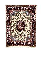 Eden Carpets Alfombra Kerman Beige/Multicolor 196 x 142 cm