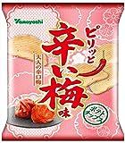 山芳製菓 ポテトチップス ピリッと辛い梅味 50g×12袋