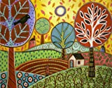 Artifact Puzzles - Karla Gerard Farmland Wooden Jigsaw Puzzle
