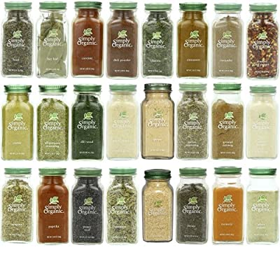 Simply Organic Gourmet Spices Set