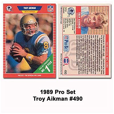 Pro Set Dallas Cowboys Troy Aikman 1989 Rookie Card