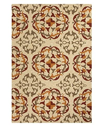 Jaipur Rugs Layered Floral Indoor/Outdoor Rug