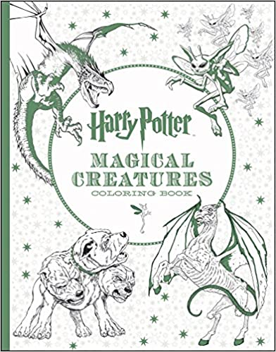 Free Download Harry Potter Magical Creatures Coloring Book