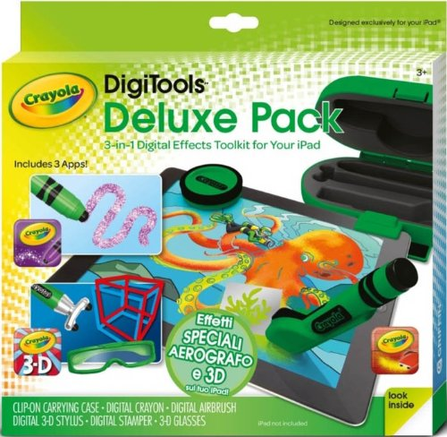 Crayola Digitools Deluxe Creativity Pack - Digital Toolkit For Ipad front-1016598