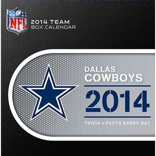 [2014 Calendar] Dallas Cowboys 2014 Desk Calendar Desk Calendar at Amazon.com