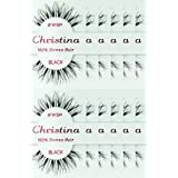 60packs Eyelashes - #WSP (Christina). (Color: 60 Pairs)