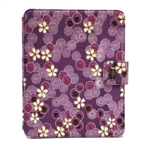 JAVOedge Cherry Blossom Axis Case for the Apple iPad (Twilight Purple)