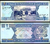 10 CONSECUTIVE AFGHANISTAN 2 AFGANIS 2002 P 65 UNC BANKNOTES