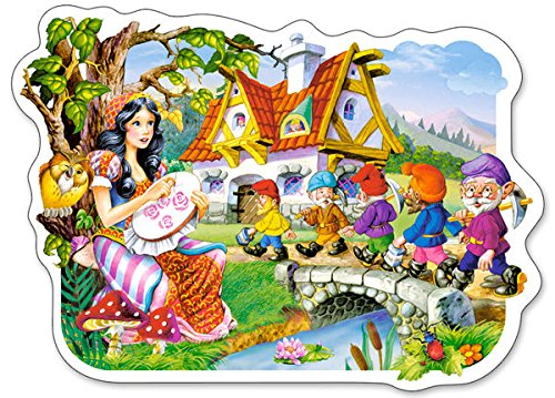 Castorland Snow White and The Seven Dwarfs Jigsaw (15-Piece) - 1