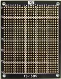 ユニバーサル基板 カラー基板(黒) 6枚組 70×90mm RoHS対応品