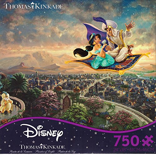 Ceaco Thomas Kinkade - Disney Dreams Collection - Aladdin Puzzle