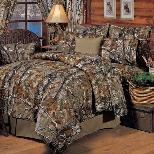 Realtree All Purpose Sheet Set, Full (Camouflage Comforter Set Full compare prices)