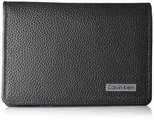 【CalvinKlein】 カルバンクライン カードケース 名刺入れ ブラック 79218 CK メンズ