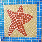 Tropical Starfish Mosaic Trivet
