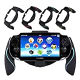 Wua Durable PS VITA Joypad Bracket Holder Handgrip Handle Grip Case for Playstation Vita 1000 Sony PSV(Blue)