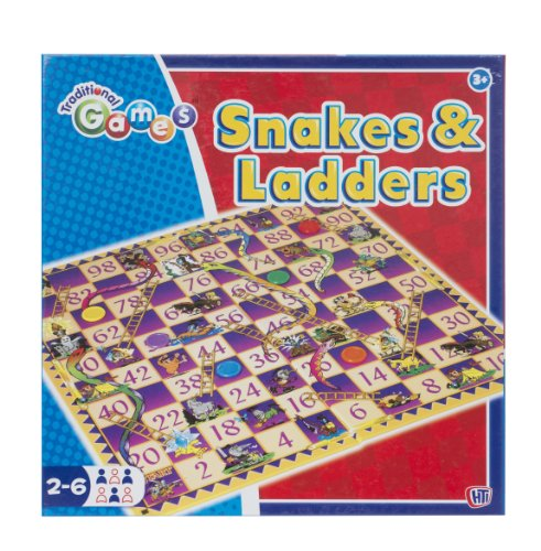 Traditional Games Snakes and Ladders Game
