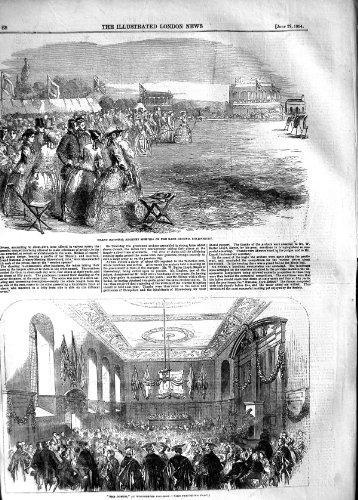 1854 Archery Sport Shrewsbur Domum Winchester College