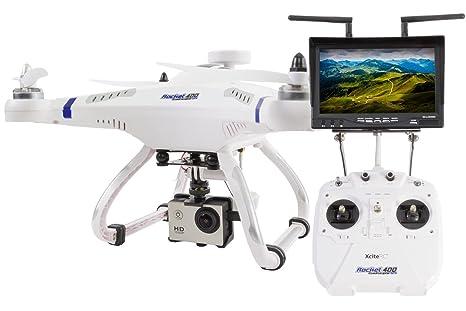 XCiteRC 15001510 Rocket 400 FPV GPS Quadrirotor radio commandé GPS Drone FPV Mode 1