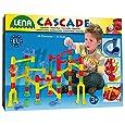 Lena 65290 - Cascade Kugelbahn Speed, 48 Bahnelemente und 20 Kugeln