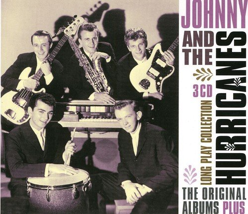 CD : JOHNNY & THE HURRICANES - Long Play Collection: The Original Albums Plus (3 Discos)