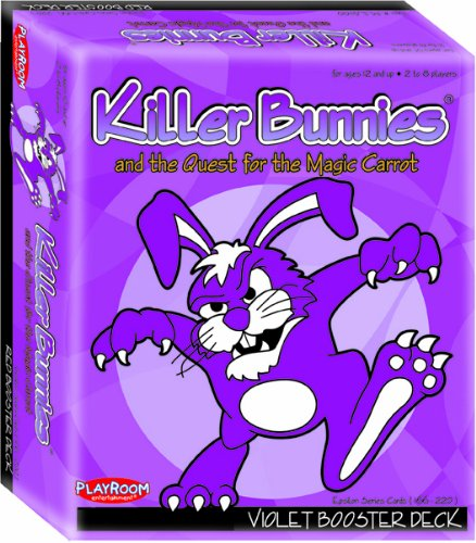 61Eg8nL23AL Cheap Buy  Killer Bunnies Violet Booster