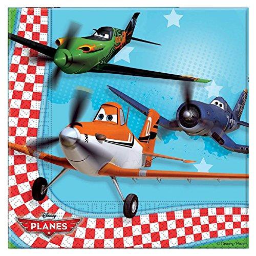 Disney Planes Two Ply Paper Napkins, Multi Color