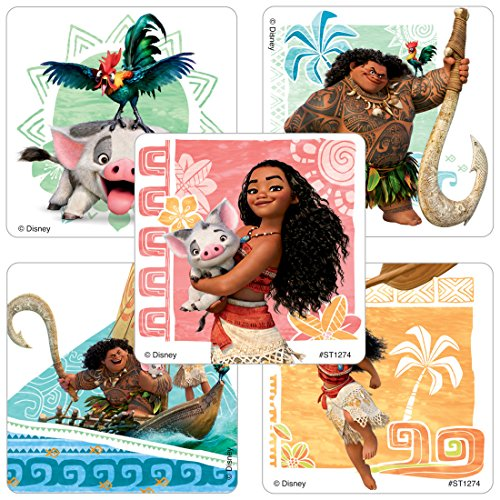 Moana Stickers