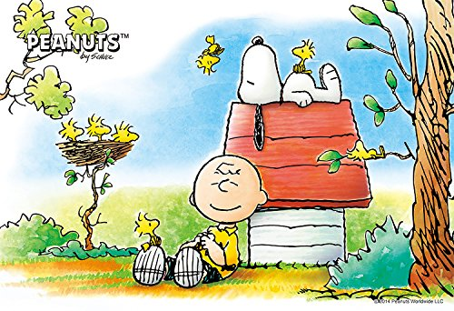 Snoopy, Woodstock & Charlie Brown Design 300 Pieces Jigsaw Puzzle