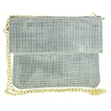 Vdesi Mesh Clutch is simple yet elegant, and beautifully matches any colour outfit