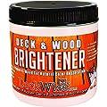 DeckWise Deck & Wood Brightener - Part 2 - 16 oz. for 600 Sq. Ft. of Decking