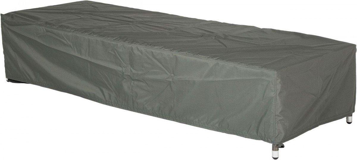 Dreams4Home Schutzhülle für Liegen – Schutzhülle, Hülle, Abdeckung, Gartenmöbelabdeckung, B/H/T: 75 x 40 x 200 cm, mit Bindebändern, 100% Polyester PU beschichtet, in grau jetzt kaufen