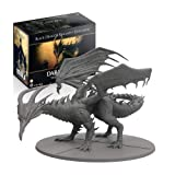 Steamforged Games Dark Souls: The Board Game: Wave 2: Black Dragon Kalameet (Color: Brown/a)