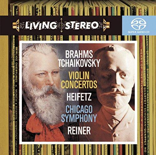 BRAHMS / TCHAIKOVSKY / HEIFETZ / CSO / REINER