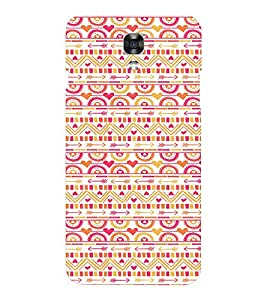 EPICCASE GIRLY pattern Mobile Back Case Cover For LG X Power (Designer Case)