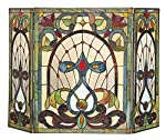 Ruby Fireplace Screen by Chloe Lighting, Inc.