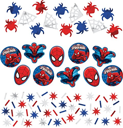 Spider-Man Confetti [Contains 4 Manufacturer Retail Unit(s) Per Amazon Combined Package Sales Unit] - SKU# 361355