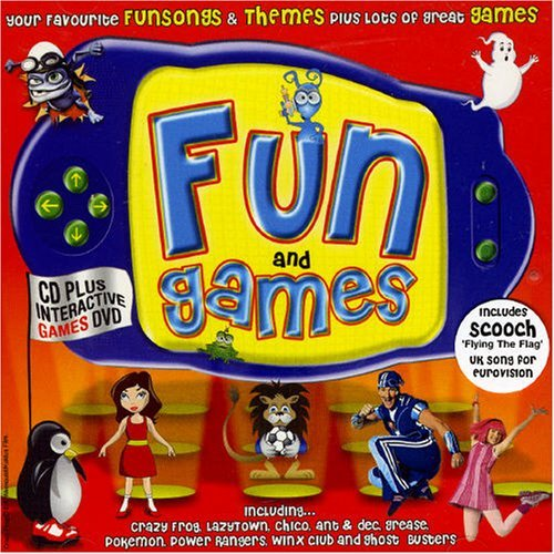 Crazy Frog - Fun And Games [cd + Interactive Dvd] By Various Artists - Zortam Music