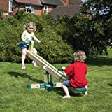 Wooden Rotating Kids See-Saw - Garden Outdoor Play Children's Seesaw (3+ Years)