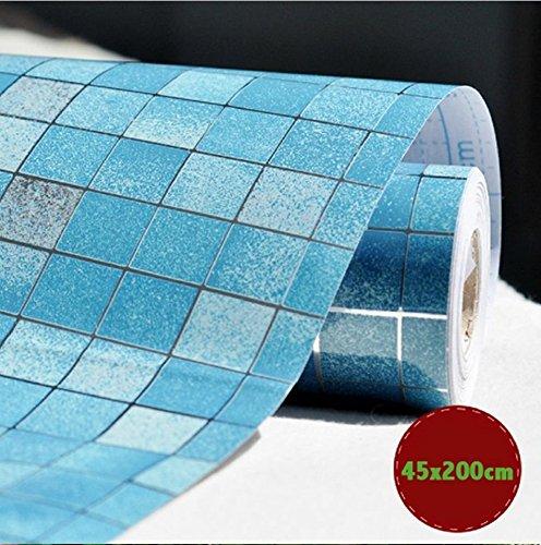 dooxoo-45-x-200-cm-CUISINE-PVC-en-papier-daluminium-self-adhensive-mosaque-Stickers-huile-papier-peint-Stickers-Muraux-Miroir-de-salle-de-bains-Sticker-mural-impermable