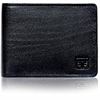 Fashion Freak Genuine Leather Bi Fold Black Wallet For Men